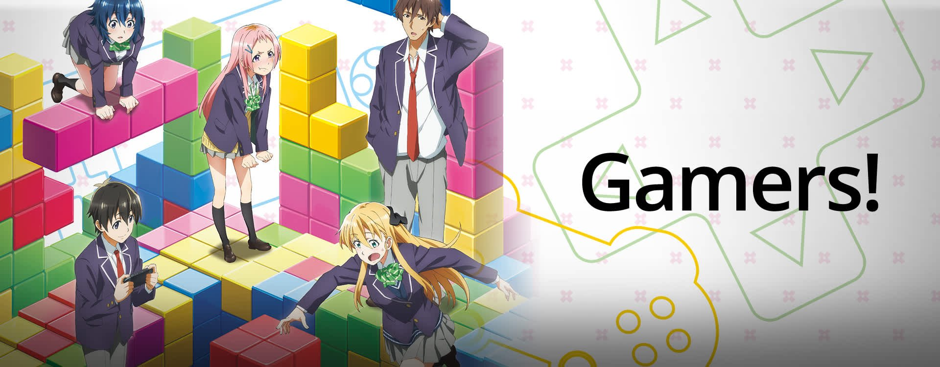 Anime Review #70: Gamers! - Anime Institute